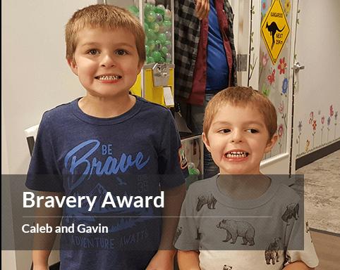 Caleb & Gavin - Bravery Award