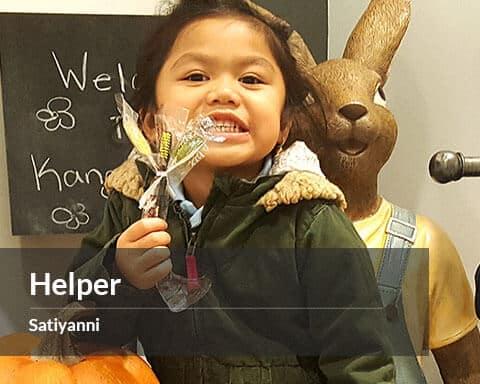 Satiyanni - Awesome Helper Award